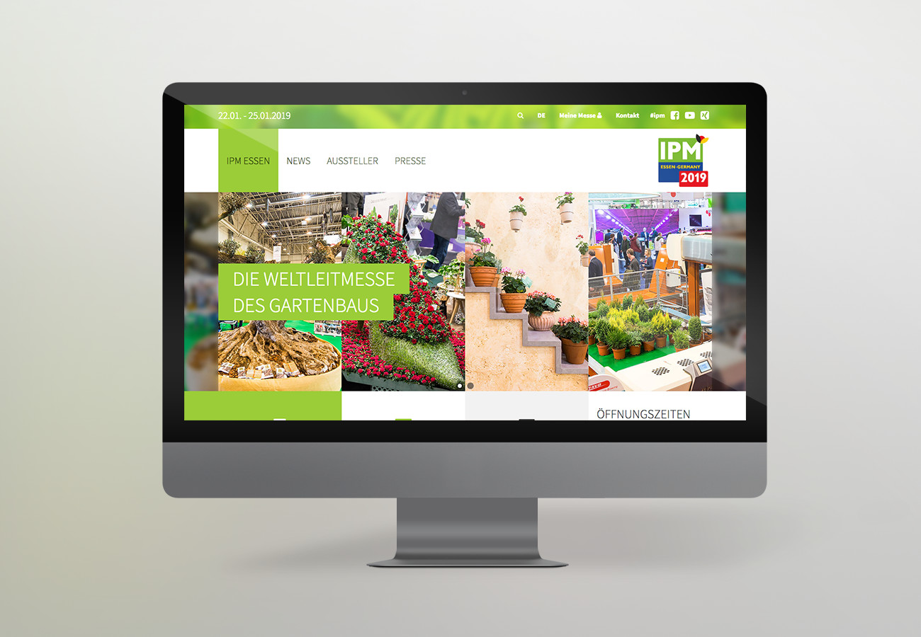 Messe Essen - IPM Desktop